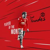Man United Star Once Again Shines After Being Awarded Player of The Month