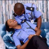 See funny replies Nigerians gave to question of two police officers getting married