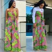 2020 FASHION: unique Ankara outfits that will make you slay like a queen