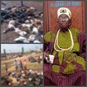 After A King Died in Ekiti State, See What Happened On The Street That Got People Talking