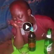 Hilarious Video: See What A Man Was Doing After Drinking Too Much Alcohol That Got People Laughing