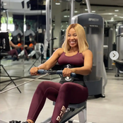 Praise, Trikytee and others reacted after Erica shared her workout photos.