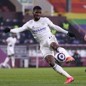 Alex Iwobi and Maduka Okoye react to Iheanacho's post after his world class goal