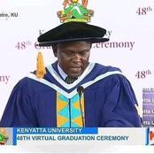 Kenyatta University mourns the loss of Registrar Academics prof Andanje Mwisukha
