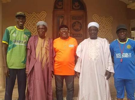 Kwara Beach Soccer, Oladimeji Thompson Visits Lafiagi Promise support for free exhibition match