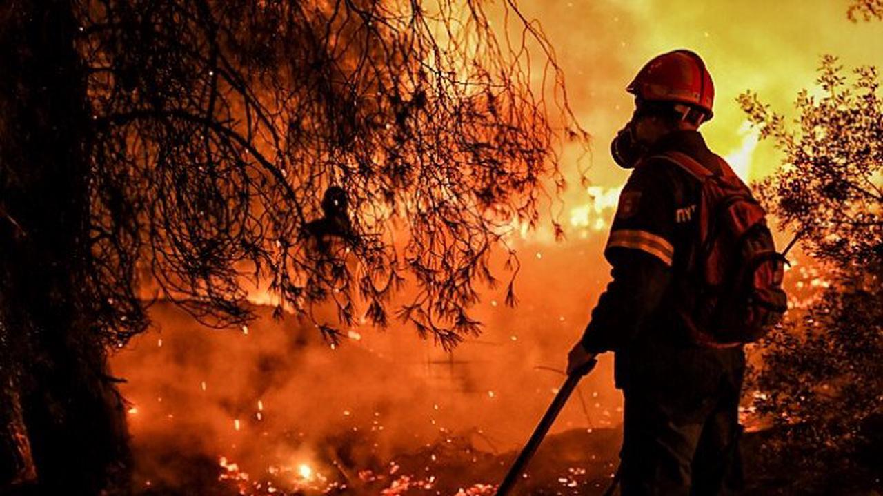 Feuer in Touristengebieten am Mittelmeer wüten weiter