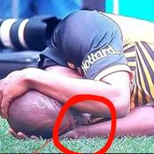 See what this Kaizer Chiefs Player Was Seen Doing After The Match with Wydad in Morroco (Opinion)