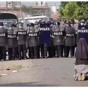 Répression en Birmanie : voici pourquoi la photo de cette religieuse fait le tour du monde