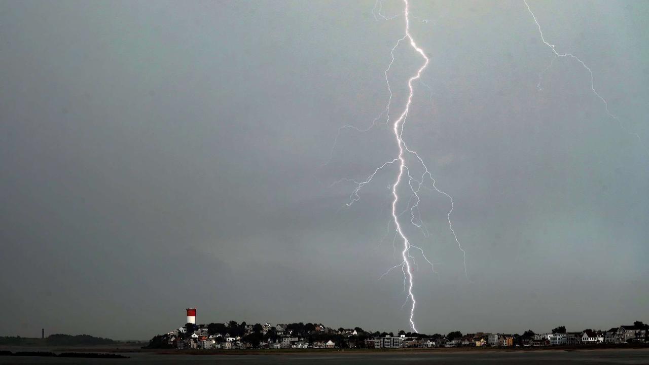 Severe Thunderstorms Make Their Way Through New England