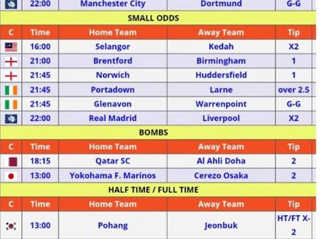 Stake on These 6 Special VIP Picks MultiBet With Amazing Odds and Earn Huge This Week