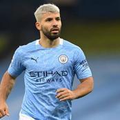 Man City Striker, Aguero Tests Positive For Coronavirus