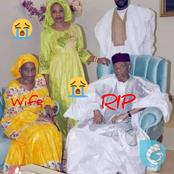 RIP: See More Photos Of Nigerien Ex-President That Just Died And That Of His Beautiful Wife.