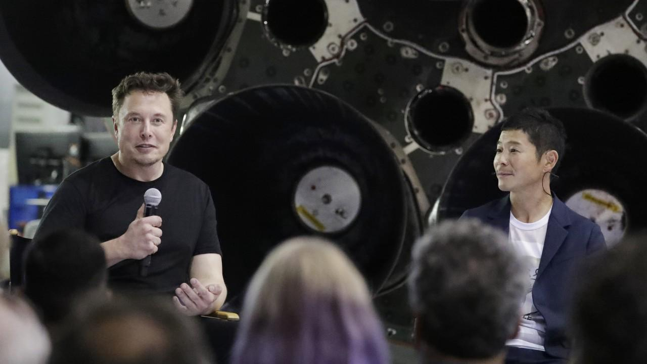 Japanese billionaire searching for 8 people to join him on free trip around the moon