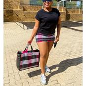 Hulisani Ravele Raises Her Fans Eyebrows With Her Recent Picture