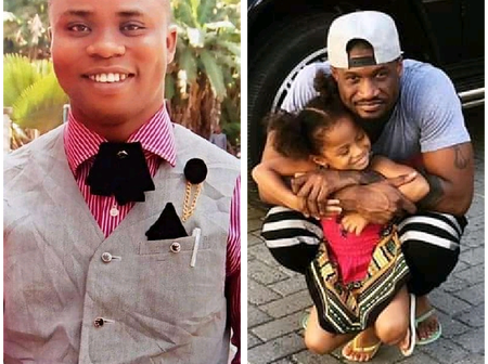 See What Man Told Mr. P On Facebook, After He Posted Pictures Of His Daughter On Her Birthday