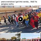 University of Limpopo students strike for off-campus allowance causes massive destruction