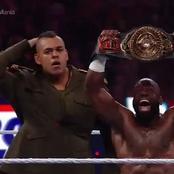 Nigerian Wrestler Comes To Help His Nigerian Brother Apollo Crews