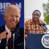 Full Details of Joe Biden's Phone Call to Uhuru