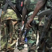 Nigerian soldier is alleged to have killed a child, See the reactions that followed