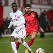 Siyanda Xulu features 90 minutes for Hapoel Tel Aviv.