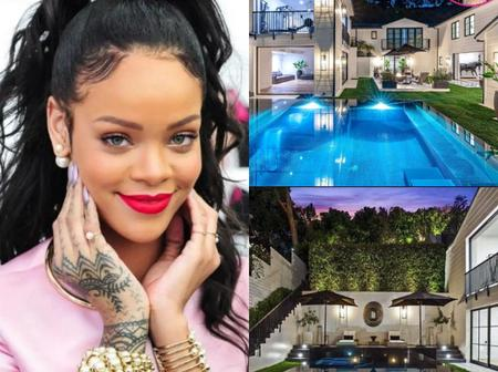 Check out Rihanna's newly acquired mansion of $13.8 million dollars