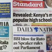 Newspapers Headlines Review For Monday 12th April