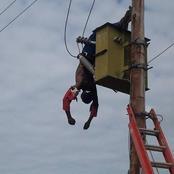 Gauteng man gets electrocuted