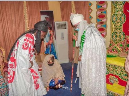 7 Photos: Emir of Bichi, Alh. Nasiru Ado Bayero Receives Kano State First Lady, Prof. Hafsat Ganduje