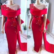 12 lovely red gown designs to wear to an
