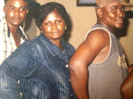 Throwback Picture of Iya Ibadan, Afeez Eniola And Adebayo Tijani