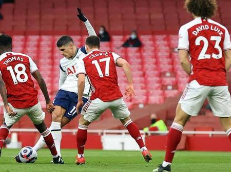 Eric Lamela Scores a Potential Goal of The Season Against Arsenal
