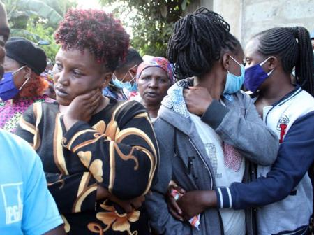 Emotions Running High in Kinangop as a Mother of 2 is Found Dead in Underground Tank