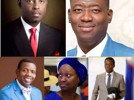 Checkout What All The Four Children Of Famous Pastor E. A. Adeboye Do For A Living.