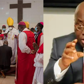 So Sad: See What Some Ghanaians Wrote When They Saw Akufo-Addo Kneel Down For Prayers