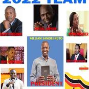 Dp Ruto's Possible 2022 Cabinet Line up In Case he Wins - Opinion