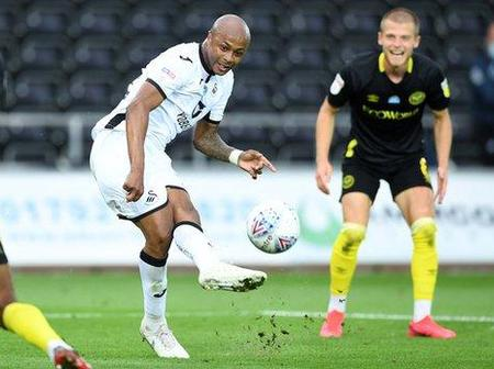 Andre Ayew equals record as Swansea City beat Millwall