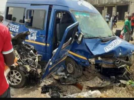 Accident kills two handsome guys at Akuse junction