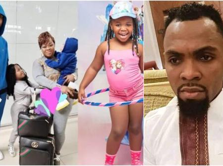 Fire up. Obofuor Reportedly Gifts iPhone 12 ProMax To 7-year-Old Daughter On Her Birthday