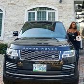 Celebrity Blogger, Linda Ikeji Acquires Herself a New Exquisite Car
