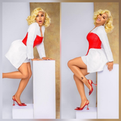 Mercy Eke Shares Lovely New Month Photos on Instagram
