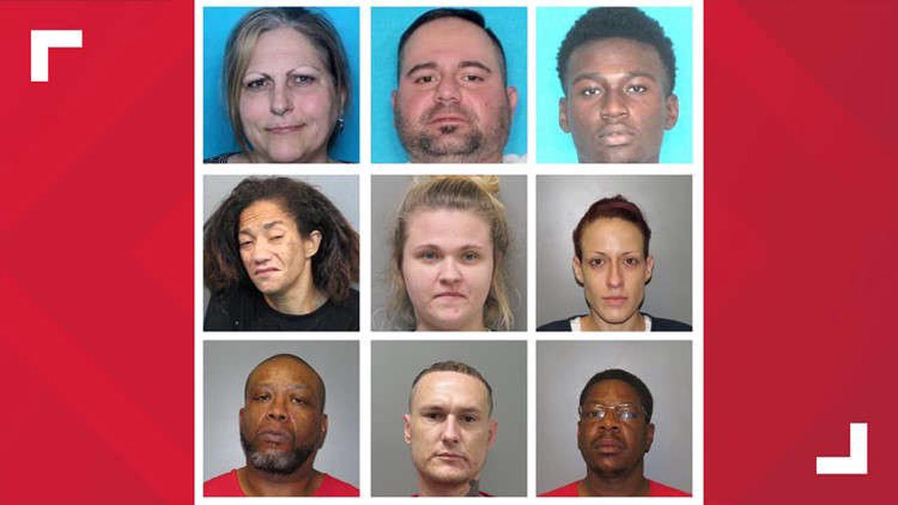 Nine arrested in Thibodaux drugs operation, police say