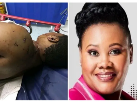 See a man that made Lesedi FM anchor battling for her life, after a following brutal assault. Sad.