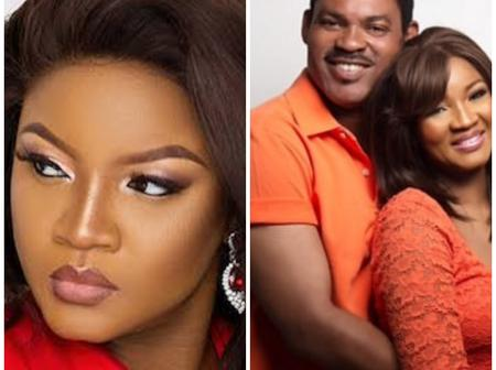 Omotala Shows Off Her Lovely Husband As They Celebrate 25 Years Wedding Anniversary (Photos)