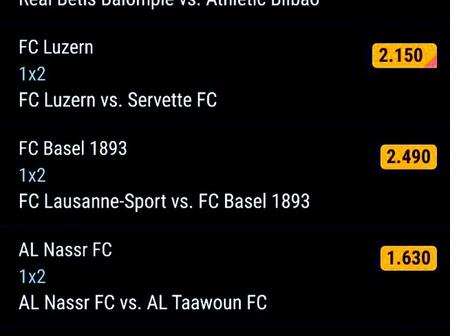 Best Of The Best Multibets With GG,Over 2.5 Goals And Amazing 401.67 Odds This Sunday 28th Feb