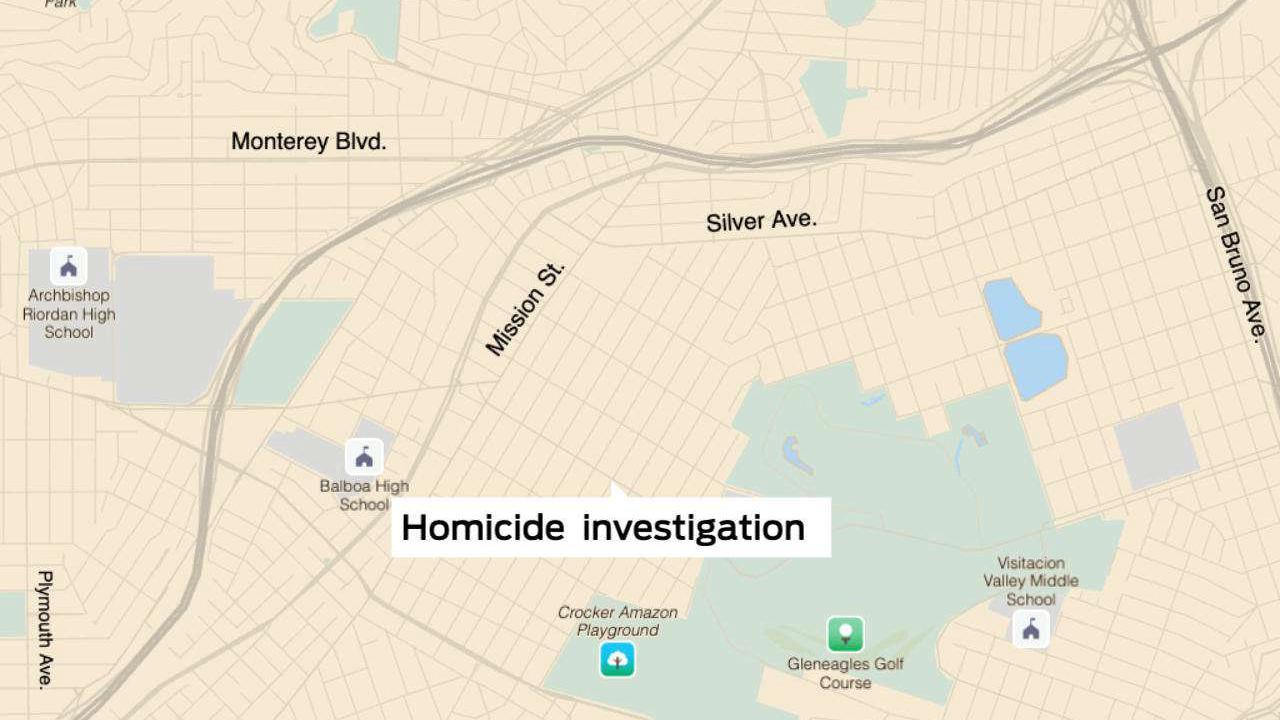 Police investigate homicide in S.F.'s Excelsior District