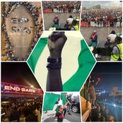 Photos From The End SARS Protest In Nigeria Which Is Causing A Stir On Social Media