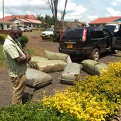 Man Arrested in Migori County with Bhang Worth 2.9 Million Shillings After a Long Chase by Police