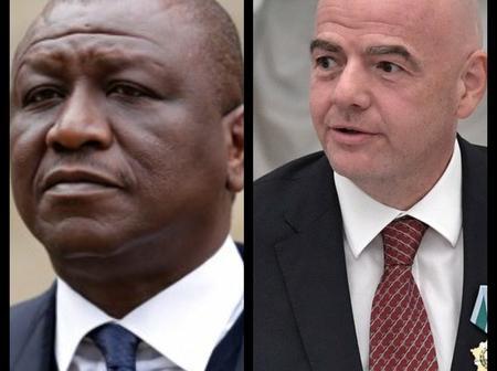 Obsèques d'Hamed Bakayoko /  La Fifa et Gianni Infantino aux côtés de la Côte d'Ivoire