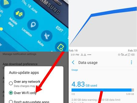 If Your Phone Consumes Excess Mobile Data, Here is What You Should Do