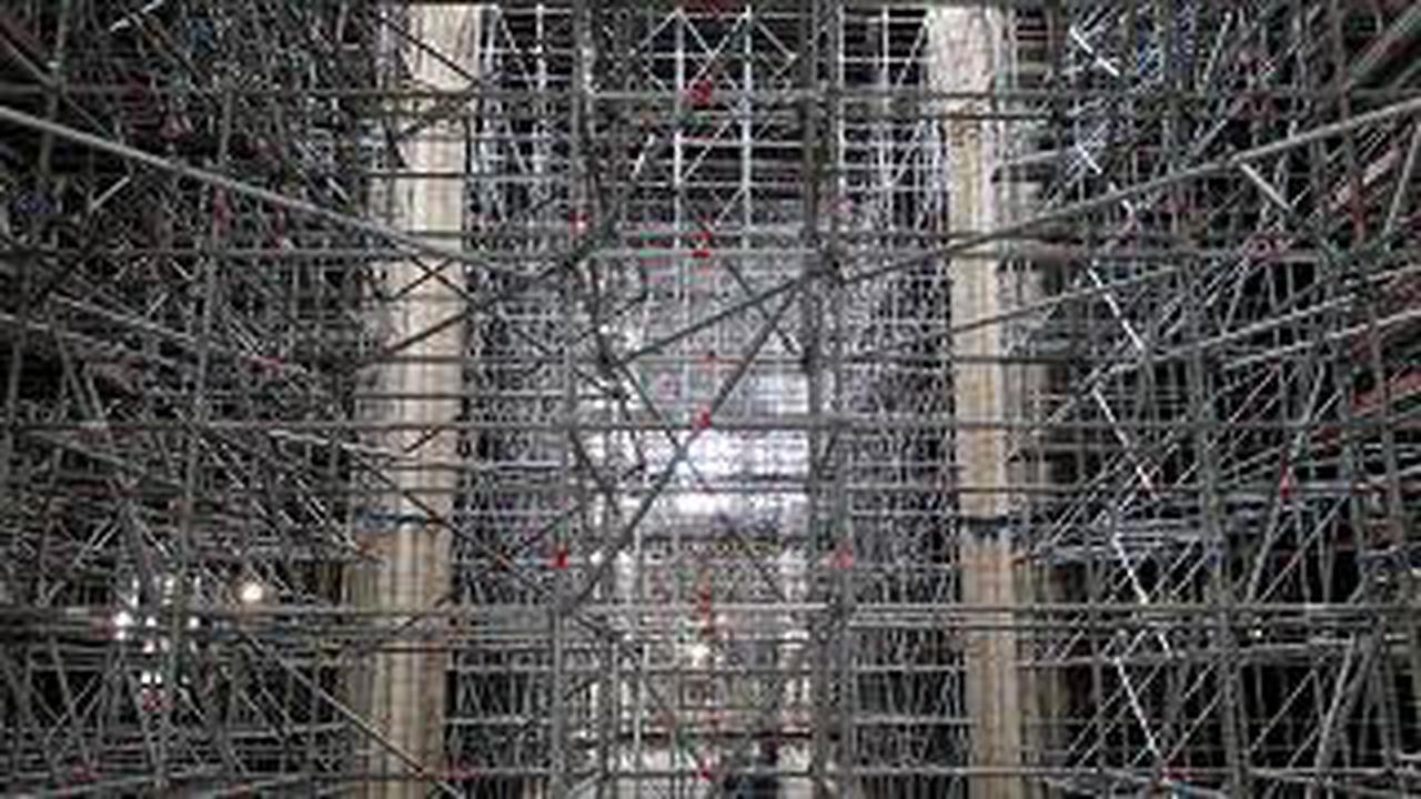 Wiederaufbau der Kathedrale Notre Dame im Zeitplan